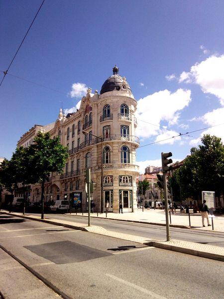 Cloud - Sky Architecture Sky Built Structure Building Exterior City Architecture Lisbon - Portugal Real People Travel Destinations