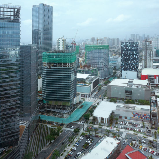 Photo taken from RCBC Saving Bank Tower - BGC branch, Bonifacio Global City. From Left: Net Park, Ascott BGC, Shangri-La Hotel Fort (250 meters), New Philippine Stock Exchange Building, ASIA BGC Taguig Bonifacio Global City Building Development Growth, Development Manila, Philippines Metro Manila Modern Philippines PhilippineStockExchange Progress Shangri-La Skyline Stock Exchange First Eyeem Photo