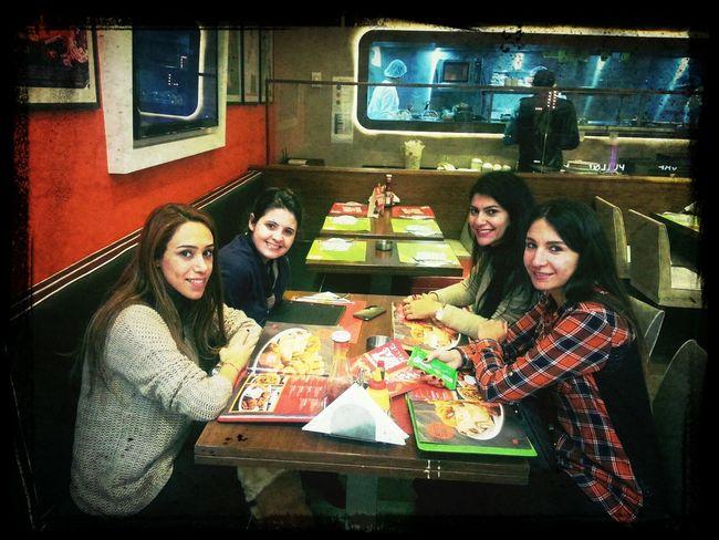 girls reunion Shopping & Meeting Friends
