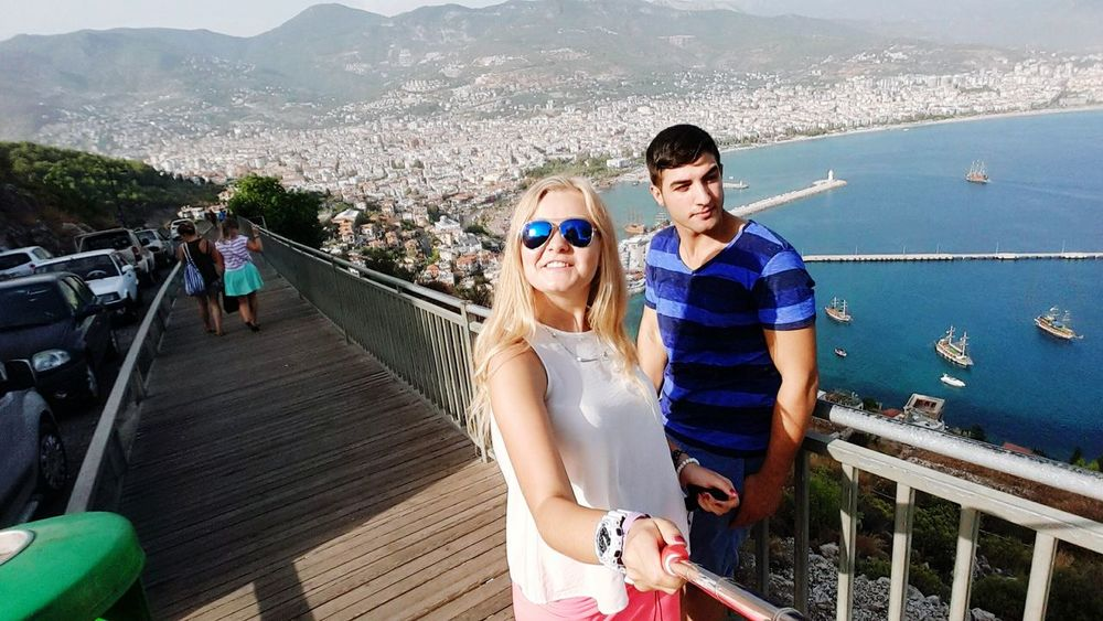 Castle Alanya/Turkey Yat Limanı Hello World Relaxing Visiting Everywhere Taking Photos That's Me Enjoying Life Like Nice Natural Cute My Love ❤ My World My Everythingg ❤