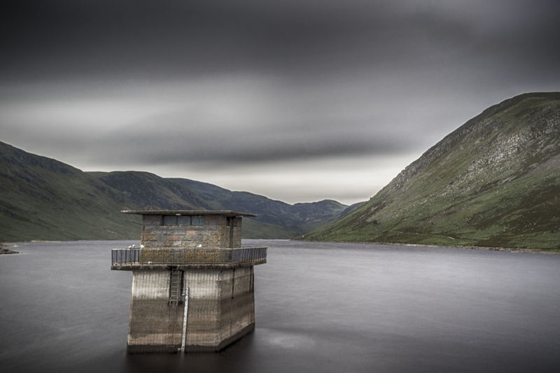 A miserable day at Loch Turret, in Perthshire. Architecture Beauty In Nature Built Structure Cloud - Sky Day Lake Landscape Loch Turret Mountain Mountain Range Nature No People Outdoors Perth And Kinross Perthshire Scenics Scotland Scottish Highlands Scottish Scenery Sky Tranquil Scene Tranquility Water