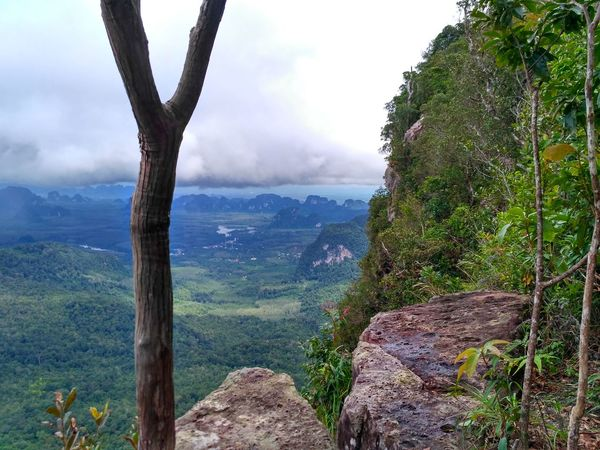 Mountain View Mountains And Sky Dramatic Sky Hills Nature No People Bagpacking Trip Cloud Cloud - Sky Mountains Mountain Outdoors Trip Beauty In Nature Landscape Nature Travel Travel Destinations Cloudy Krabi Thailand Lost In The Landscape