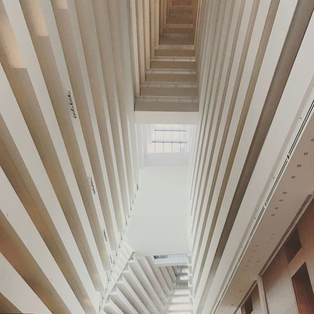 Bay towers Singapore Singapore Indoors  Architecture Built Structure White Color Steps And Staircases Architectural Column No People
