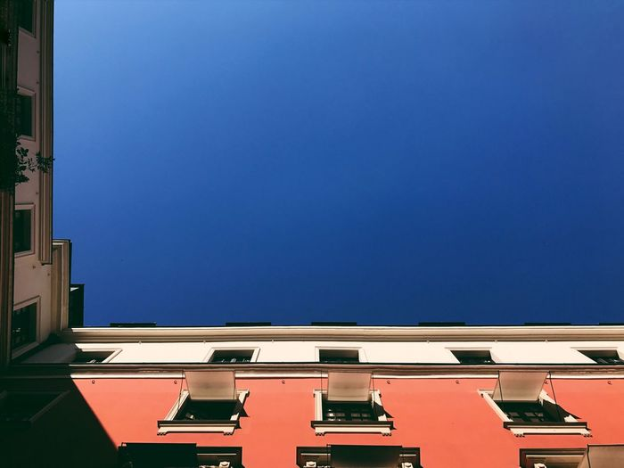 Hotel CostesParis]aPerspective Viewview perspective Blue Clear Sky Copy Space No People Building Exterior Built Structure Low Angle View Day Architecture Outdoors Sky