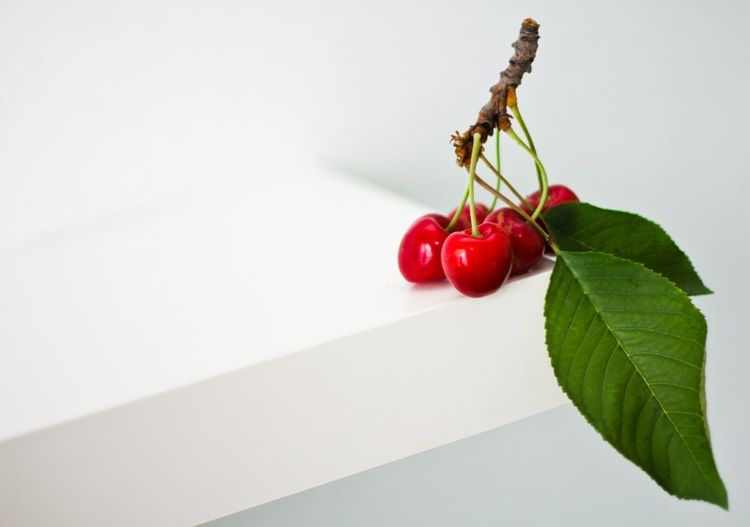 Branch Cherry Close-up Day Food Food And Drink Freshness Fruit Gourmet Healthy Eating Indoors  Leaf Nature No People Plant Red Vegetable