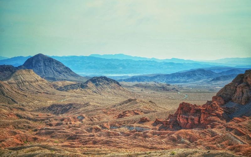Valley of Life Mountains Valley Canyon Colorful Life Nature Outdoors Hiking Nevada Mountains And Sky