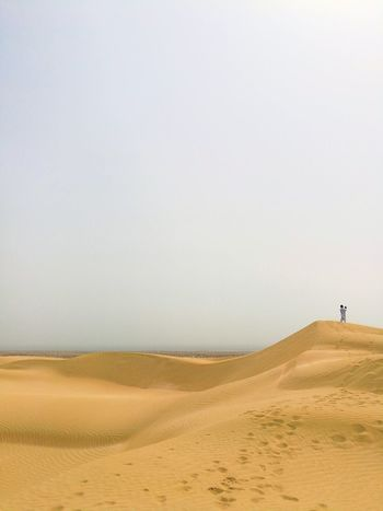 EyeEm Best Shots EyeEmNewHere EyeEm Selects Sand Dune Clear Sky Desert Beach Arid Climate Sea Sand Full Length Sky Landscape
