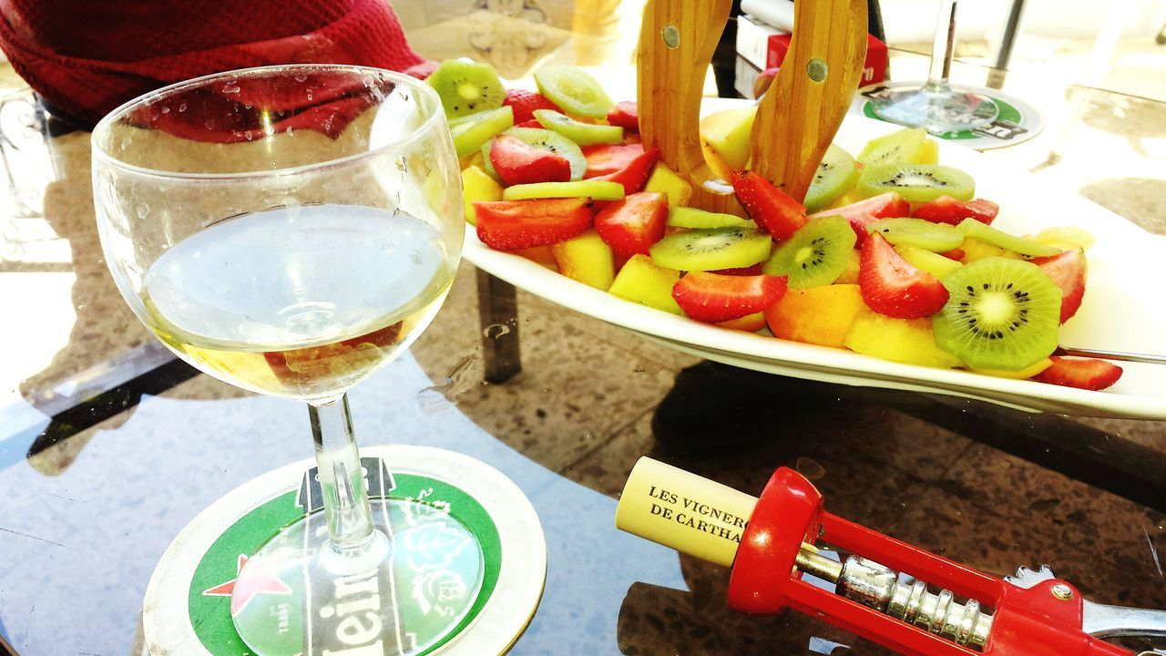 food and drink, wineglass, food, table, freshness, refreshment, no people, wine, healthy eating, high angle view, indoors, red, drinking glass, drink, day, close-up, alcohol, ready-to-eat