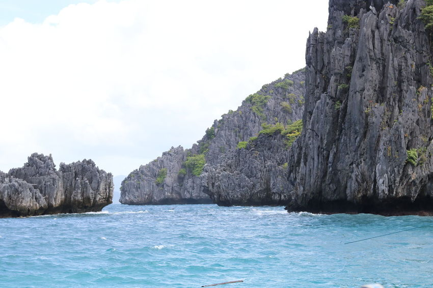rock formation Island Rock - Object Beach Beauty In Nature Water Vacations