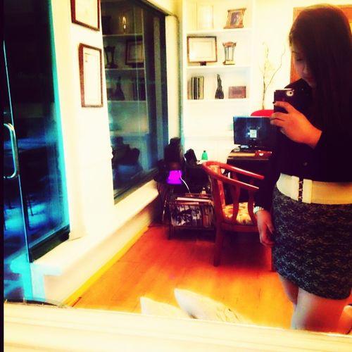Vanity Office Working Haha! Excuse me!
