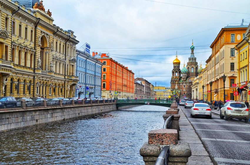 The Road to The Savior on The Spilled Blood Church, St. Petersburg, Russia .. Architecture Travel Destinations Outdoors Sky Building Exterior Travel St. Petersburg Tourism St. Petersburg, Russia Around_the_world EyeEmNewHere Arts Culture And Entertainment The Architect - 2017 EyeEm Awards The Street Photographer - 2017 EyeEm Awards The Great Outdoors - 2017 EyeEm Awards Live For The Story Travels Tours Architecture Savior On The Spilled Blood Church Religion