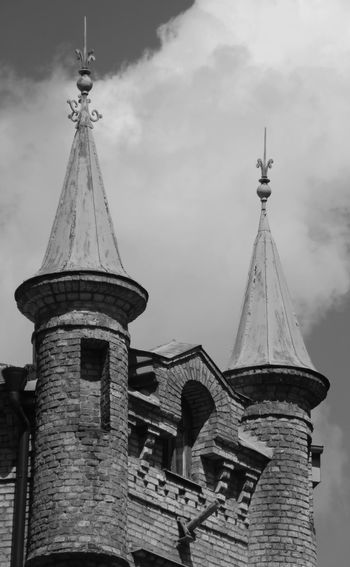 2 History Sky Architecture Building Exterior Built Structure Spire  Tall - High Urban Skyline Cityscape Skyline Bell Tower - Tower Tower