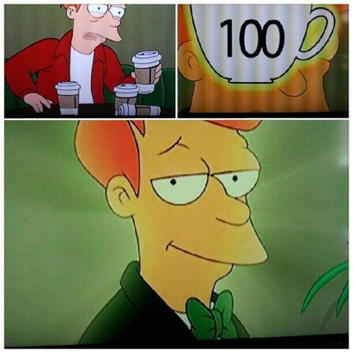 Capolavoro assoluto, un giorno proverò anche io Fry Futurama 100 Coffee