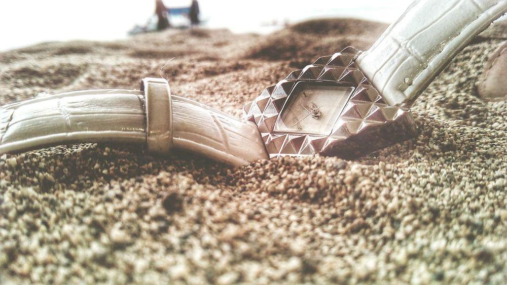 Wrist Watch Sand Beach Philippines Albay,bicol