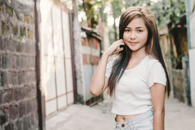 Cute Cute Girl Lightroom Person Photoshoot ♡ Pinay Girl Pinaybeauty Street Photography Teen Teenager White