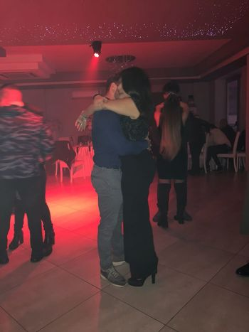 Night Adult Indoors  Party - Social Event Dance Floor Full Length Dancing