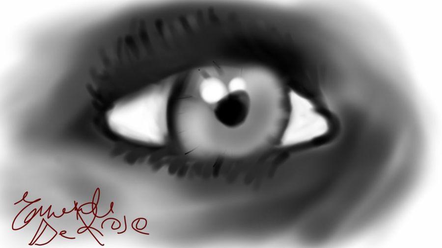 Drawing Eye Blackandwhite