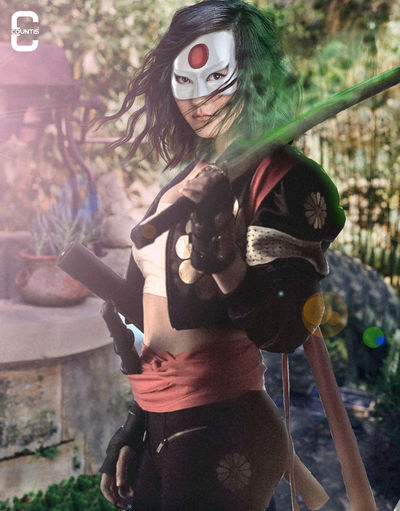 Karen Fukuhara as Katana Katana Dccomics Art ArtWork Digital Art SuicideSquad Suicidesquadmovie