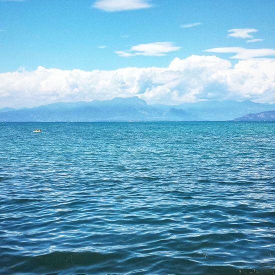 Lago di garda Travel Tranquility Travel Destinations Lago Di Garda PeschieraDelGarda Blue