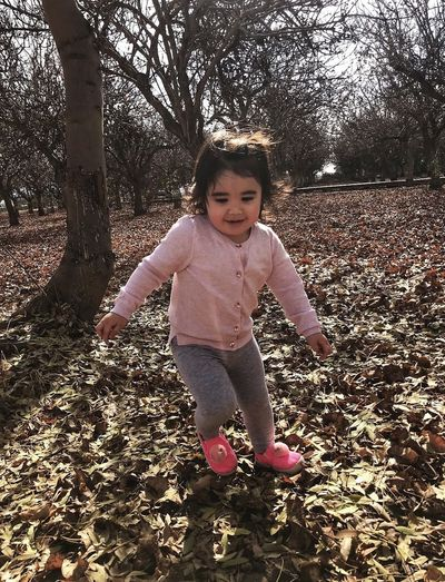 Autumn Childhood Child Full Length One Person Real People Innocence My Best Photo Cute Standing Nature Portrait Girls Day Land Casual Clothing Front View Baby Leisure Activity Females Outdoors
