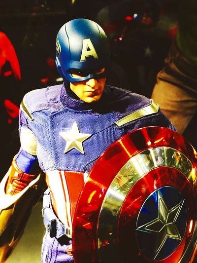 The Captain! Call Him Captain America The Avengers