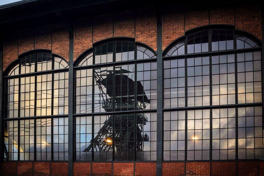 Dortmunder Industriekultur no. 3 Industrial Culture Architecture Window Reflection Built Structure Building Exterior Indoors  Day