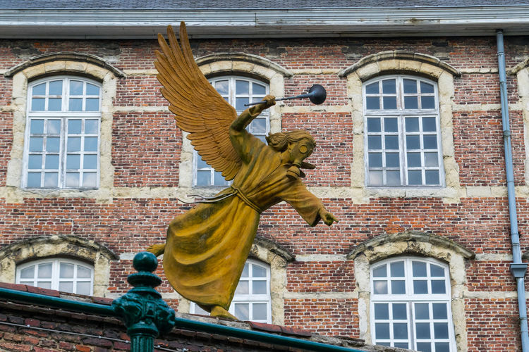 Architecture Detail Façade Gent Monastery Nikonphotography No People Sky Statue The Week On Eyem