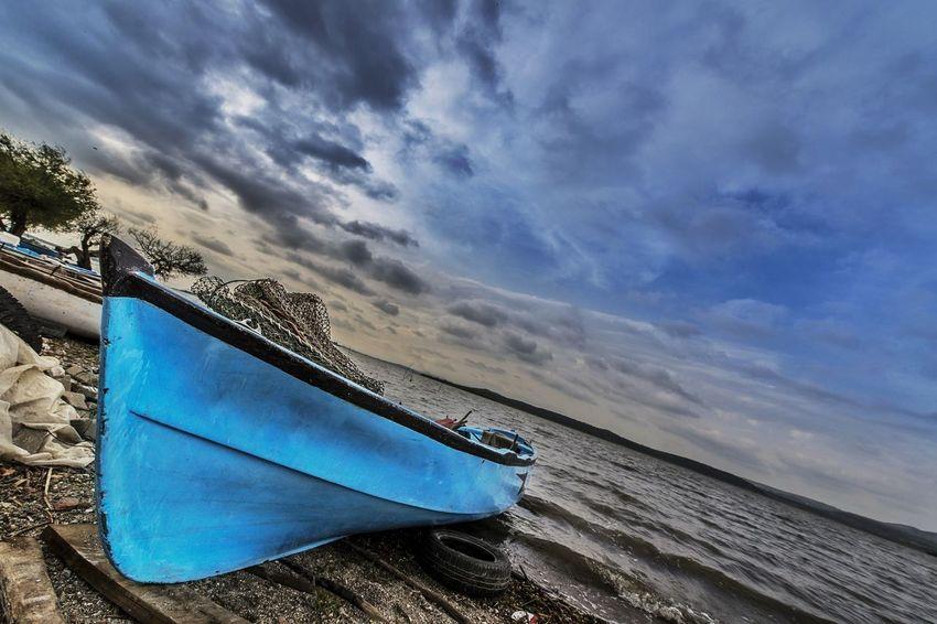 Gölyazı - Bursa / Turkey Turkey Sea Sunset Clouds And Sky