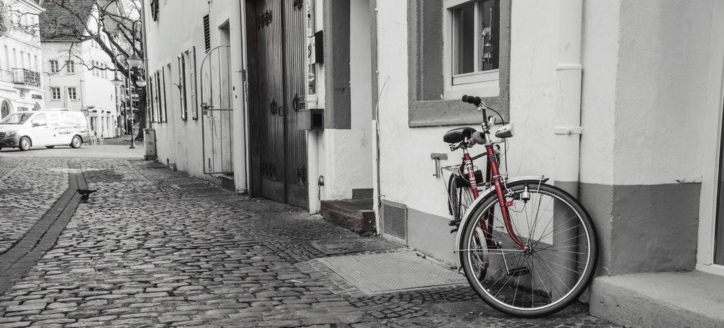 Showcase: February Outdoor Photography Photography Saarbrucken Saarland Bike Nikon Photooftheday Freshness Street Life DOPE Red