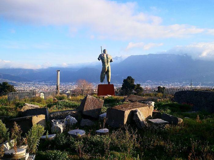 Pompeii Europe Pompeii  Ruins Sculpture Italy Mobile Photography