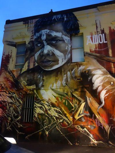 Aborigines Architecture Art Courage Multi Colored Streetart