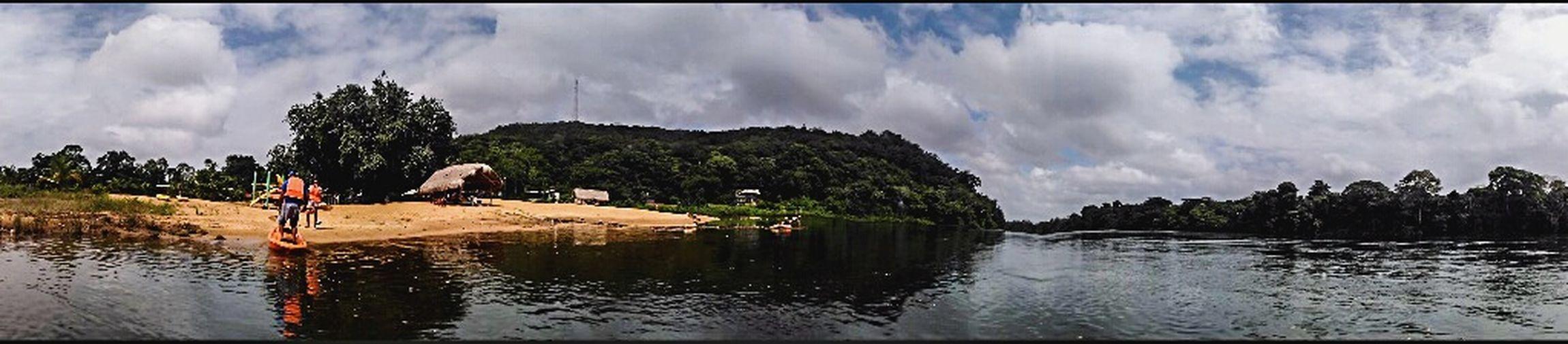 Panoramic Surinameriver Bergendal Brokopondo District Suriname South America