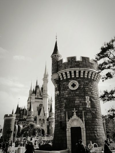 Tokyo Disney Land TDL Cinderella Castle Tokyo Disney Resorts Black & White Black And White Photography Enjoying Life