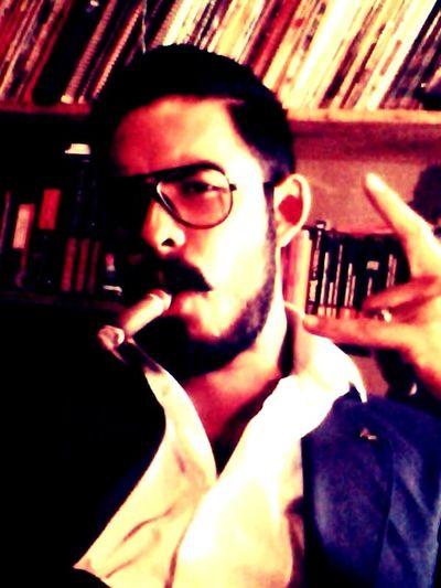 Relaxing Taking Photos Coffee And Cigarettes Enjoying Life Hello World Selfportrait Puros Smoking