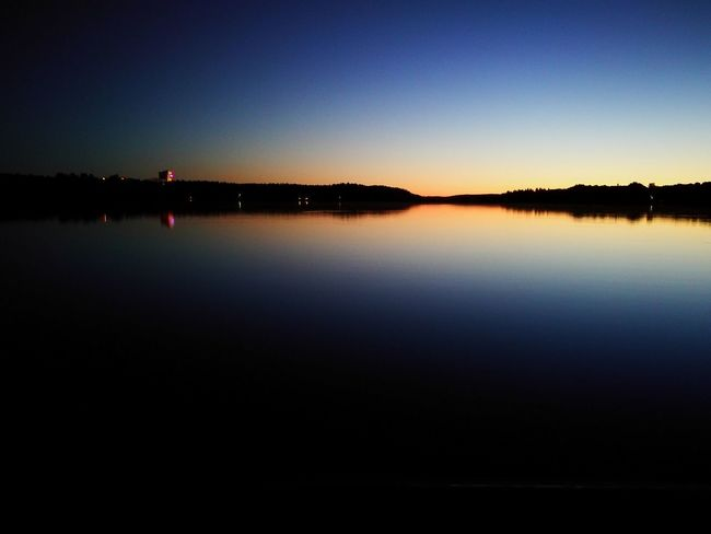 Mid Summer Reflection Water Outdoors Nature Beauty In Nature Tranquility Calm Water Sunset Mid Summer Night Neighborhood Map