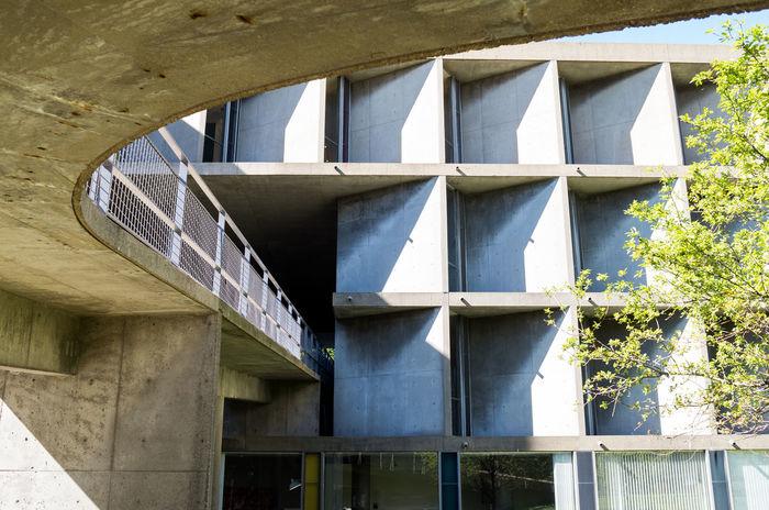 Architecture Boston Brutalism Building Exterior Built Structure Carpenter Center Concrete Harvard Le Corbusier