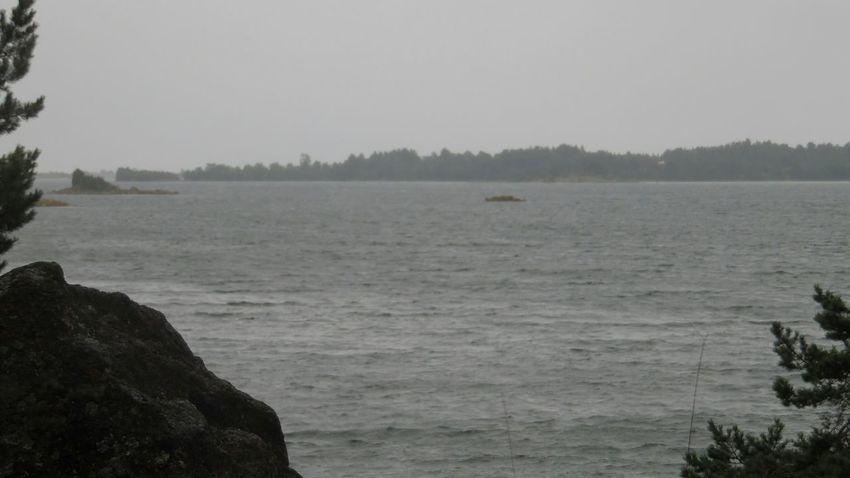 Sverige Weather Oskarshamn Småland Baltic Sea Stormy day!