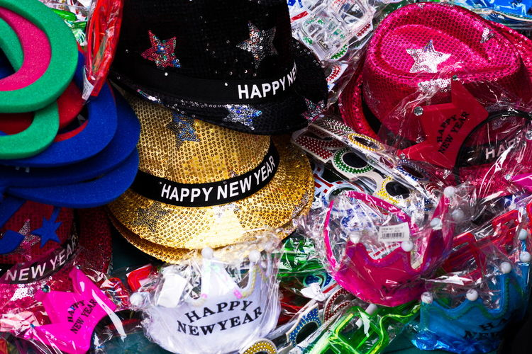 Out with the Old... Streetphotography Walking Hats Colors Vibrant New Years 2016 NewYearsDay Texture Sony A6000 Project365