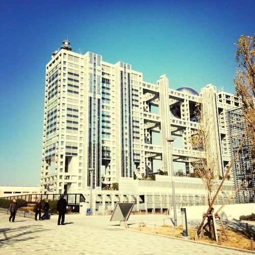 Architecture Odaiba Tokyo Cx