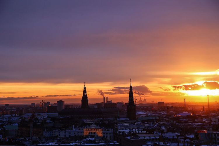 Sunset Copenhagen Traveling Holiday Eye4photography  Sunset Silhouettes Sunset_collection