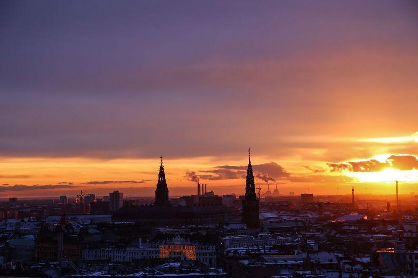 Sunset Copenhagen Traveling Holiday Eye4photography  Sunset Silhouettes Sunset_collection