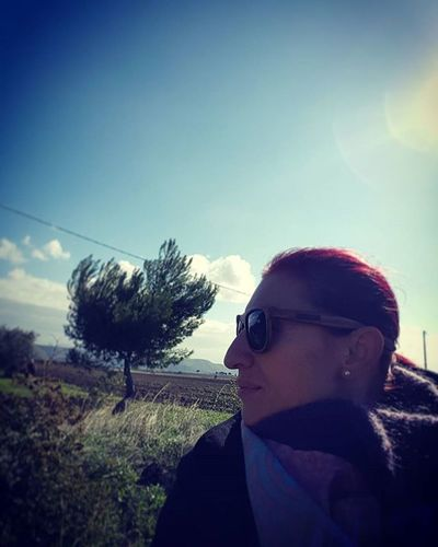 Countryside Campagnapugliese Campagnafoggiana Selfie Alone Italy Puglia Apúlia Relaxing Sopeaceful