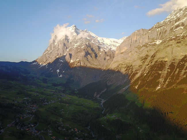 Beauty In Nature Drone  Dronephotography Mountain Mountain Range Nature Outdoors Sky Swiss Alps Swiss Mountains