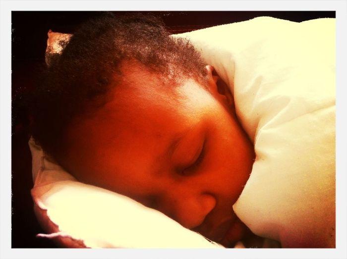 Sleeping My Baby Girl <3 Black Sleepy Time