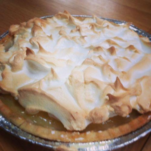 Lemon Meringue Pie , Homemade