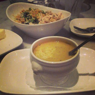 #crab #chowder and #chickensalad for #dinner Rrgs Rkoig Dinner Californiastyle CA Crab Cali Luxury Bestcoast Chowder Rkoi Chickensalad Ca_skies Betcheslovethis Californiagirl Richkidsofinstagram Luxurylife