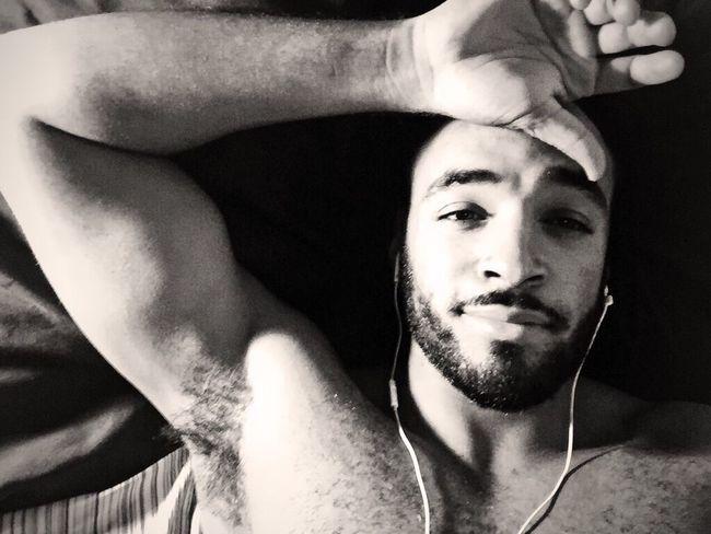 IPhoneography Blackandwhite Light Skinned Selfie Hello World