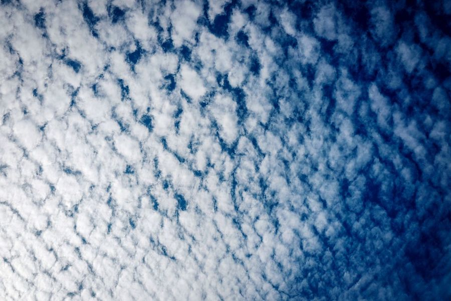 Discoverhongkong Sky And Clouds Cloud - Sky Sky Blue Full Frame No People Backgrounds White Color Pattern Winter Low Angle View Cold Temperature Scenics - Nature Snow Beauty In Nature Day Nature Close-up Textured  Outdoors Purity