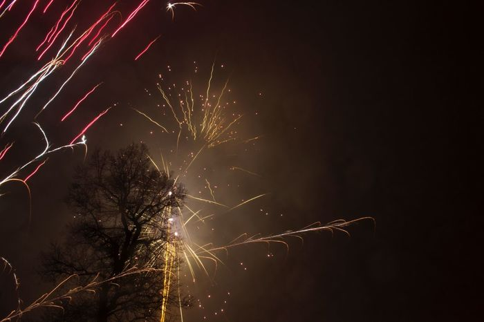 New Year's Eve Fireworks Fireworks Happy New Year New Years Capturing Movement Make Magic Happen Party Time! Canon EOS 700D EF-S 18-55mm IS STM