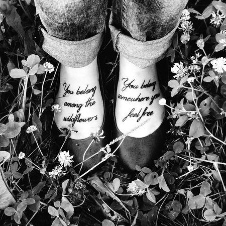 Tattoo Wildflowers Photography Feet Freedom Me